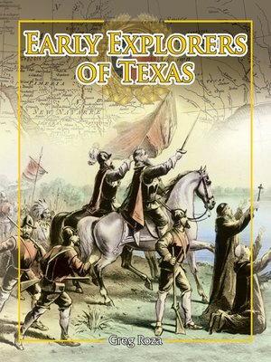 cover image of Early Explorers of Texas